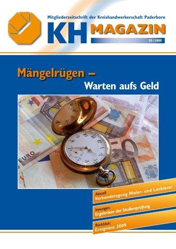 KHMAGAZIN - Kreishandwerkerschaft Paderborn
