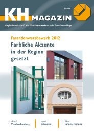 MAGAZIN - Kreishandwerkerschaft Paderborn