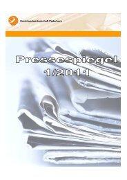 Pressespiegel 1.Quartal 2011.pdf - Kreishandwerkerschaft Paderborn