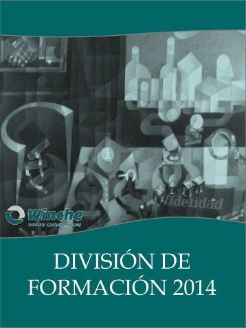 DIVISIÓN DE FORMACIÓN 2014