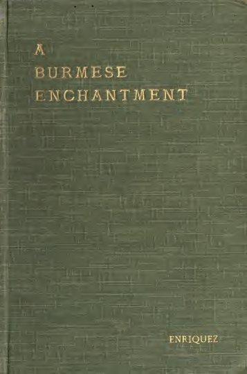 A Burmese Enchantment - Khamkoo