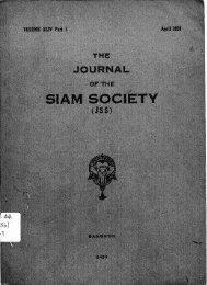 The Journal of the Siam Society Vol. XLIV, Part 1-2, 1956 - Khamkoo