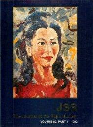 The Journal of the Siam Society Vol. LXXX, Part 1-2, 1992 - Khamkoo