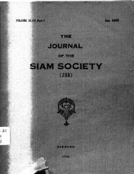 The Journal of the Siam Society Vol. XLVII, Part 1-2, 1959 - Khamkoo