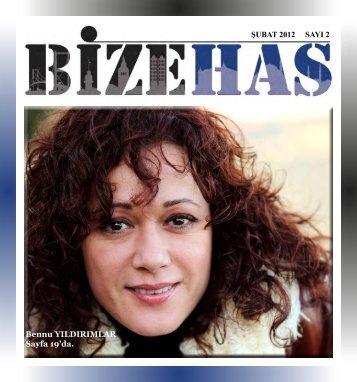 ŞUBAT 2012 SAYI 2 Bennu YILDIRIMLAR Sayfa 19'da. - Kadir Has ...
