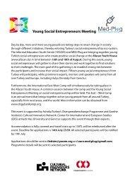 Young Social Entrepreneurs Meeting - Kadir Has Üniversitesi