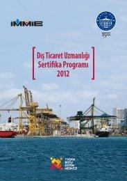 Sertifika Programı Dış Ticaret Uzmanlığı 2012