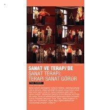 Sanat ve Terapi'de Sanat Terapi - Kadir Has Üniversitesi