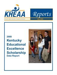 Kentucky Educational Excellence Scholarship - KHEAA