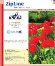 Volume 1 Issue 3 April 2010 - KHEAA
