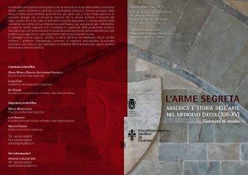 Programma - Kunsthistorisches Institut in Florenz