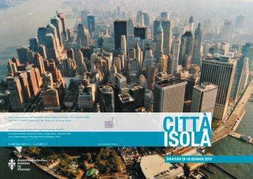 Citta Isola_FINAL copy.indd - Kunsthistorisches Institut in Florenz