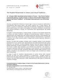 Comunicato Stampa 8 luglio 2009 - Kunsthistorisches Institut in ...
