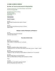 Il Mare_Programma - Kunsthistorisches Institut in Florenz