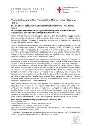 Comunicato Stampa 19 ottobre 2009 (pdf) - Kunsthistorisches ...