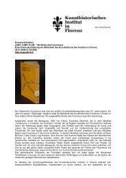 Presseinformation ZANG TUMB TUUM - 100 Werke des Futurismus ...