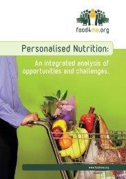 Food4me Information Brochure - Keller Heckman