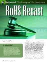 RoHS Recast - Keller Heckman