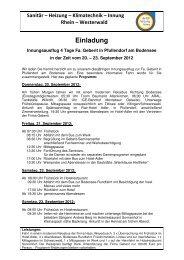 20120315 Programm SHK - Kreishandwerkerschaft Rhein-Westerwald
