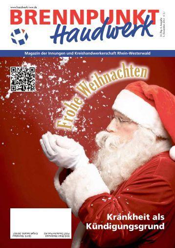 Frohe Weihnachten - Kreishandwerkerschaft Rhein-Westerwald