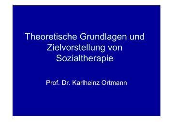 Theoretische Grundlagen und Zielvorstellung von ... - KHSB