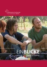 EINBLICKE - KHSB