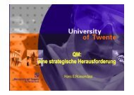 Prof. Dr. Hans E. Roosendaal, TU Twente, Enschede - KHSB