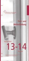 Jahresprogramm - KHSB