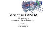 KHuK Jahrestagung Bad Honnef 29/30 November 2012