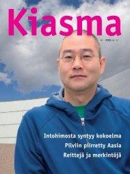 Lataa Kiasma-lehti 40 PDF-versiona