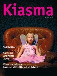 Lataa Kiasma-lehti 36 PDF-versiona