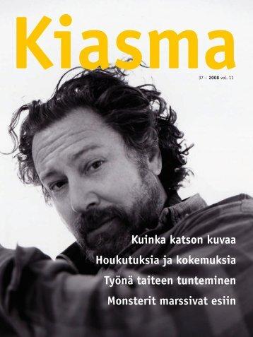 Lataa Kiasma-lehti 37 PDF-versiona