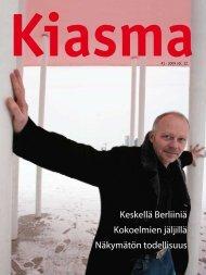 Lataa Kiasma-lehti 41