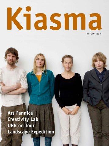 Kiasma Magazine 33 PDF-version