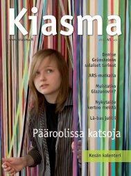 Lataa Kiasma-lehti 45 PDF-versiona