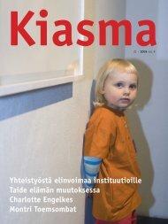 Lataa kiasma-lehti 31 PDF-versiona