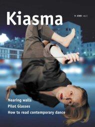Nearing walls Pilot Glasses How to read contemporary ... - Kiasma