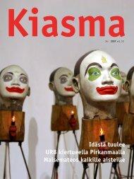 Lataa Kiasma-lehti 34 PDF-versiona