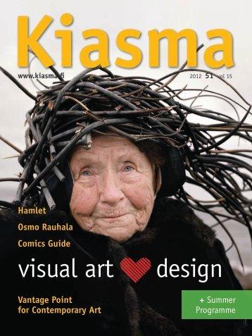 visual art design - Kiasma