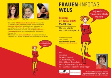 FRAUEN-INFOTAG WELS - KiB Children Care