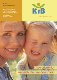 Neurodermitis – Wenn die Haut verrückt spielt - KiB Children Care
