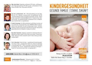 Einl Kindergesundheit - KiB Children Care