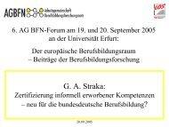 Zertifizierung - KIBB