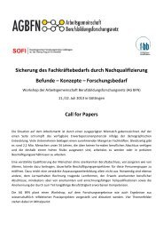 Call for Papers - KIBB
