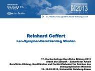 Reinhard Geffert - KIBB