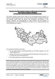 Regionale Ausbildungsstellen-Situation in Mecklenburg ... - KIBB