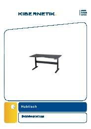 012985 Betriebsanleitung Hubtisch mit hellgrauer ... - Kibernetik