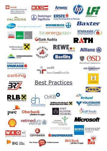 Best Practices unterschiedlicher Unternehmen
