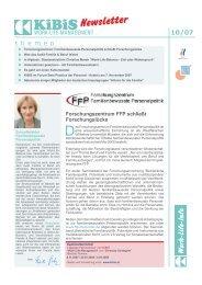 Newsletter 2007-10 (PDF 2834 KB) - KiBiS Work-Life Management ...