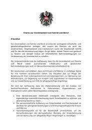 Charta Vereinbarkeit Beruf und Familie - Bundesministerium für ...